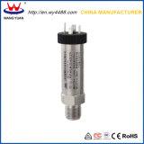 A certificação ISO9001 Medidor Industrial Transmissor de Pressão do Sensor de Pressão