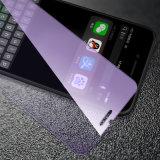 Oughened Película azul de membrana de vidrio templado de Protector de Pantalla para Samsung Gelaxy Nota8/S8