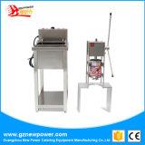 Корея коммерческих 3л из нержавеющей стали с электроприводом Churros бумагоделательной машины Churros Maker