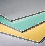 PE e revestimento de PVDF plástico compósito de alumínio painéis ACP Cartão de cor