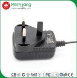 Adaptador de las BS de la fuente de corriente continua de la CA de voltio 1A de Reino Unido 12V 12