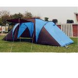 Campting Zelt für große Familie mit 3 Räumen