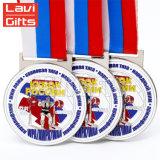 관례 자유로운 유일한 로고 현대 고대 매력적인 디자인 리본 스포츠 메달