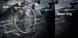 Muur Opgezet om het Roestvrij staal van de Stijl 304 Toebehoren van het Bad van de Ring van de Handdoek