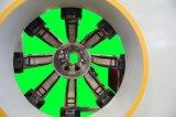 高品質プラスチック円錐対ねじPVC管の押出機機械