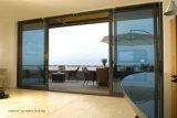 55 series adelgazan el balcón comprable del perfil que resbala las puertas de aluminio