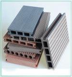 Assoalho composto plástico de madeira do Decking de Outerior da parte alta/placa impermeável de WPC