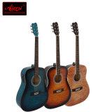 Guitarra acústica del estudiante de encargo de la fábrica de la guitarra para el principiante