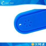 빨 수 있는 세탁물 의류 실리콘 장거리 수동적인 RFID 꼬리표