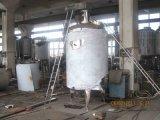 El tanque de mezcla con el mezclador para la solución de la inyección