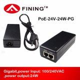 Gigabit24v1a/24w ruft passiver Poe-Einspritzdüse-Adapter für drahtloses APS IP Kameras an
