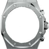 De aangepaste Gegalvaniseerde IP Zwarte CNC Machinaal bewerkte Horlogekast van het Roestvrij staal