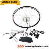 Гибкие 350W электрический двигатель велосипеда комплект с Qt 10,4 ah вниз трубку аккумуляторной батареи