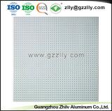 Edificio material decorativo de alta calidad en el techo metálico de aluminio con la norma ISO 9001