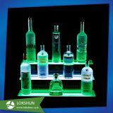 Visualización de acrílico de Glorifier de la botella de cerveza con el LED