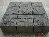 Pavimentazione di pietra naturale di figura del ventilatore del granito/basalto/ardesia/Bluestone per il giardino/strada privata