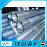 Tubo cuadrado galvanizado galón caliente del tubo de acero de la venta BS1387