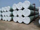 Tubo plástico reforzado fibra de vidrio del tubo del cilindro de la fibra FRP para la solución o el agua química