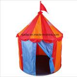 أطفال خيمة في [مونغلين] قصر