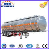 3axleアルミ合金の石油燃料のタンカー
