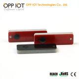 M2M POUR L'ITO Solution UHF de suivi des actifs étiquette métallique