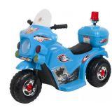 Rit op de Elektrische Motorfiets van Jonge geitjes met Rode Kleur