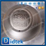 Didtek Cryogenic Flange CF8m Spoils Valve for Refinery