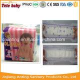 Culotte remplaçable respirable de formation d'absorption élevée pour la couche-culotte de bébés