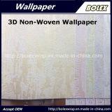 Papel pintado no tejido 3D del diseño caliente para la decoración casera los 53cm*10m