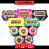 760 PCS texas holdem Style /Clay Poker Chips (YM-MGBG003)