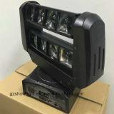 Mini8*3w CREE R G B W Mini-LED bewegliche verrückte Haupttasche LED, die DJ-Geräten-Beleuchtung verschiebt