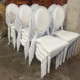 Hotel de alumínio de Casamento Eventos Louis Cadeiras de jantar