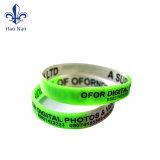 Wristband luminoso ecologico del silicone di buona qualità di 100%