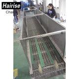 Máquina de Aço de plástico o transportador de correia para o Túnel pasteurizado