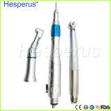 Hesperus Hochgeschwindigkeits-LED Handpiece langsamer Handpiece Zahnarzt-Kursteilnehmer Handpiece Installationssatz für Universität Asin