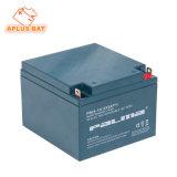 Baterias solares populares do modelo 12V 24ah do mercado europeu para o apoio