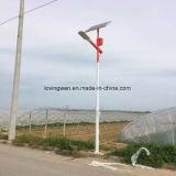 Factory Direct Bridgelux 30W Rue lumière solaire le prix du systeme