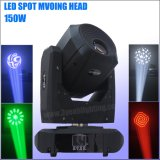 LED de alta calidad de 150W moviendo la cabeza de las luces de Spot etapa