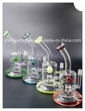 De Waterpijp van het Glas van de Toebehoren van het Recycling van de Collector van de Rook van de gekleurde Filter
