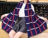 Кашемир женщин акриловый реверзибельный как шарф шали зимы печатание снежка теплый толщиной связанный сплетенный (SP266)