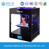 Nivelamento automático de impressão 3D de alta qualidade de trabalho da máquina impressora 3D