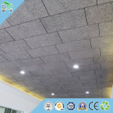 Panneau de mur de panneau de mur de plafond de copeaux de bois d'écran antibruit