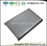 Fabricant de 12 ans d'expérience de l'aluminium pour dissipateur thermique du dissipateur de chaleur du radiateur d'équipement audio de voiture