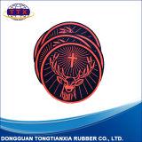 Abridor de Jar de caucho natural con el logotipo personalizado