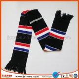 Оптовая продажа напольная с Tassels связала комплект берета и шарфа
