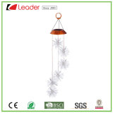 De aantrekkelijke ZonneSter Windchime van het Glas met Licht voor de Decoratie van het Huis en van de Tuin