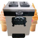 Fabrication de crème glacée molle Mobile commercial de la machine avec trois points de vente
