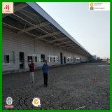 Große Überspannungs-Stahlplatz-Rahmen-Lager oder Werkstatt in Rumänien