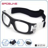 На заводе оптовой белый ПК баскетбол дриблинг очки против царапин высокой четкости видения объектив футбол очки