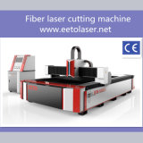 tagliatrice del laser della fibra di CNC 1500W per il taglio di Alu del CS del metallo ss